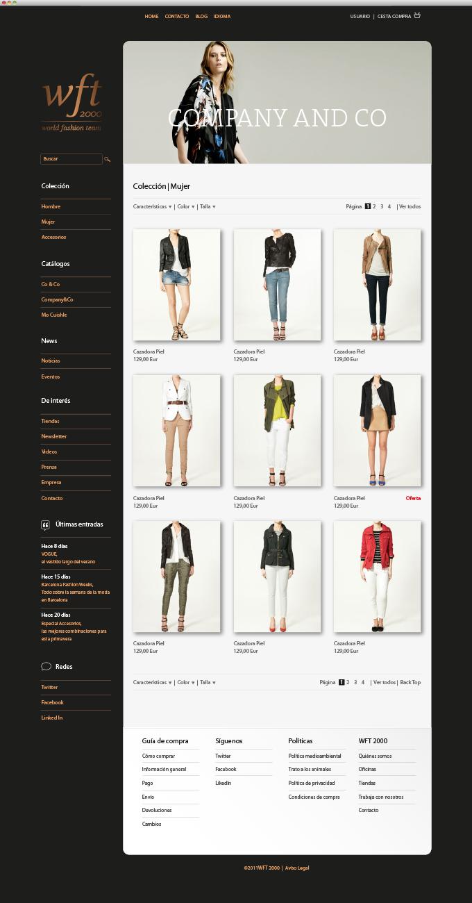 World Fashion Team<br/>  Web Store