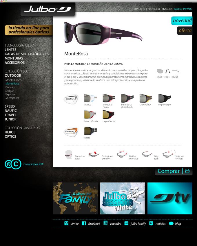 Julbo </p> WebStore